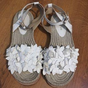Pour La Victoire Espadrille Woven Leather Sandals